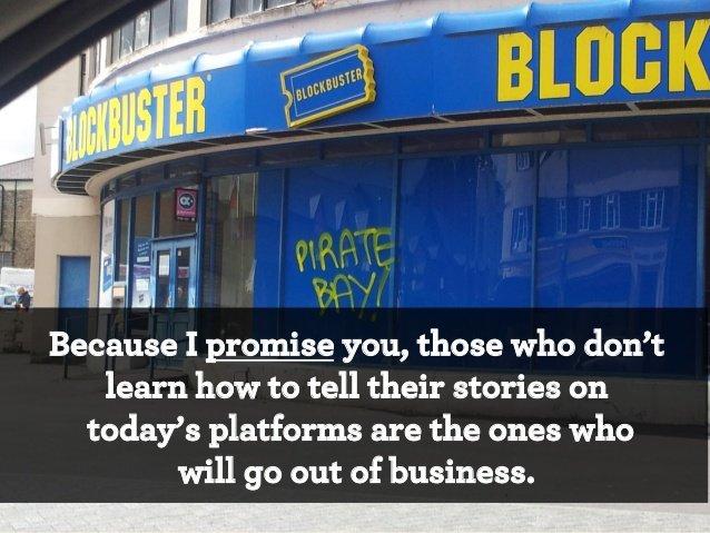те, кто не понимает, потеряет бизнес