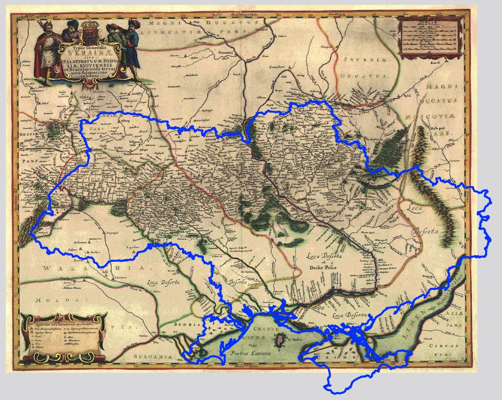Генеральное описание Украины