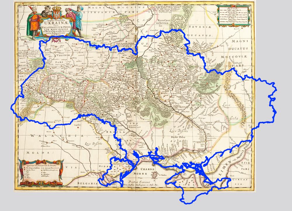 Генеральная карта Украины