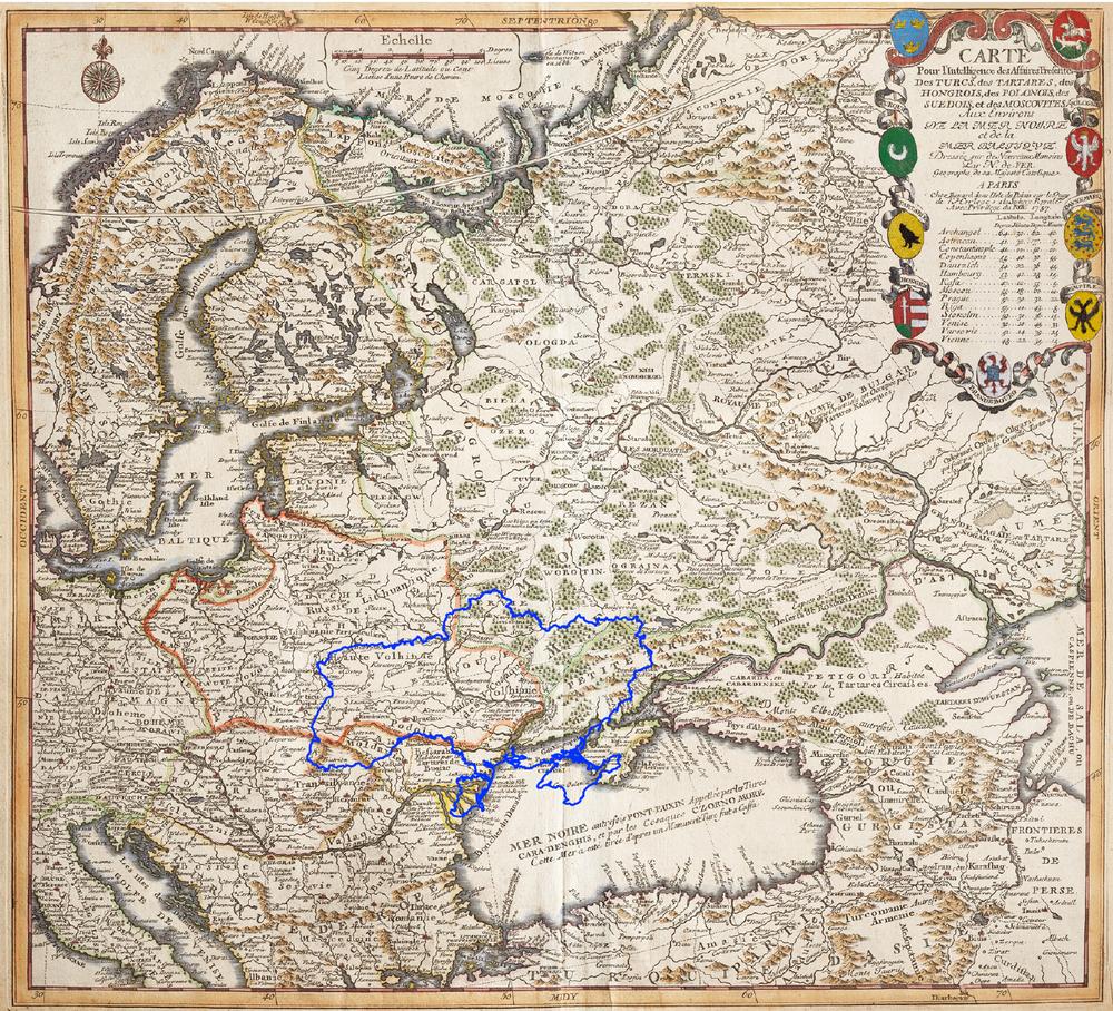 Земли между балтийским и черным морями