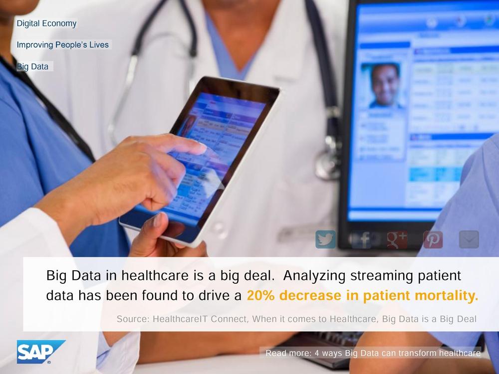 big data в медицине