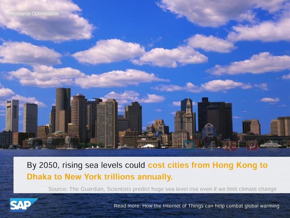 Подъем уровня моря