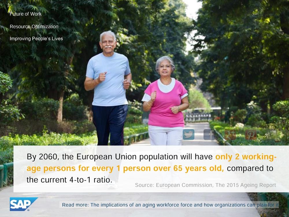 Старение населения в ЕС