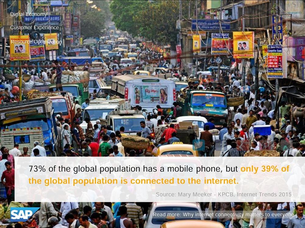 39% человечества подключено к интернету