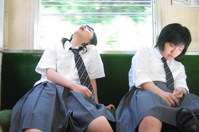 Хроническая усталость японцев