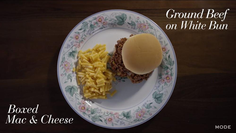 Sloppy Joes With Macaroni & Cheese