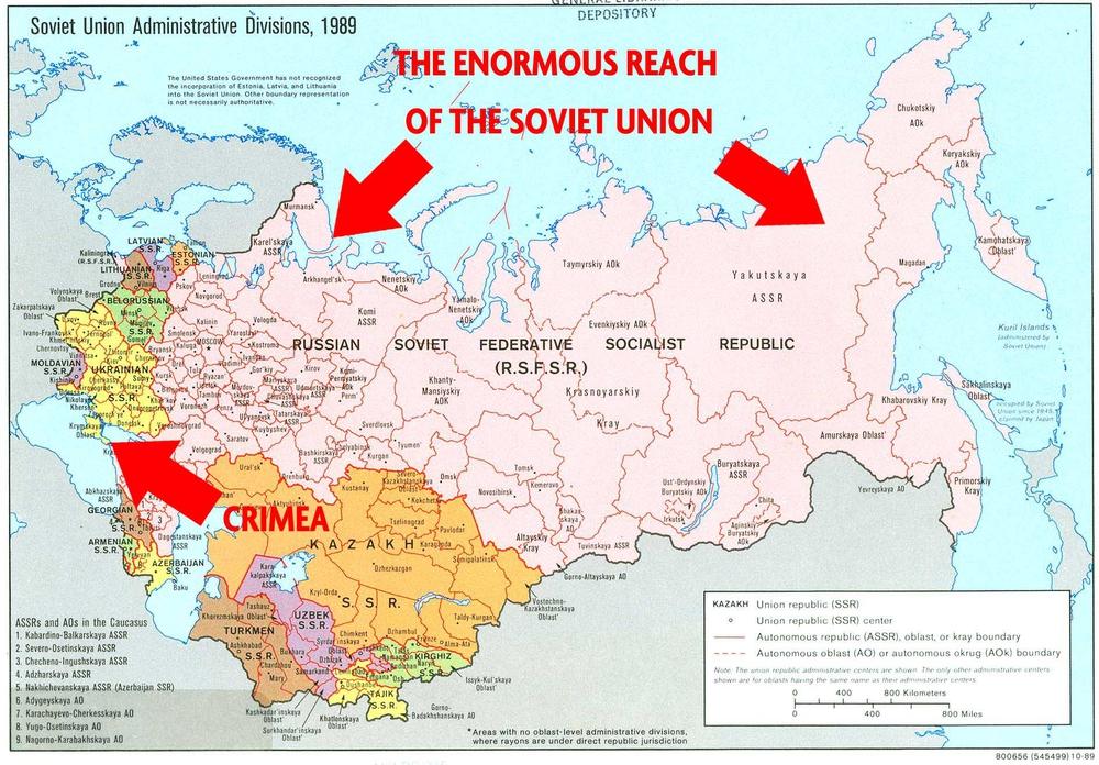 Административно-территориальное деление СССР