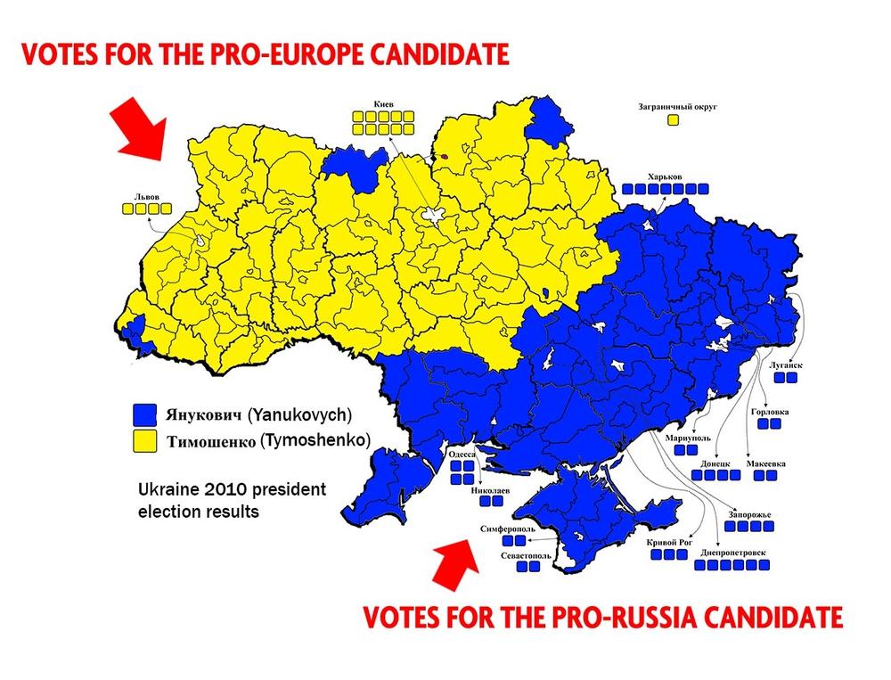 Политическое деление Украины