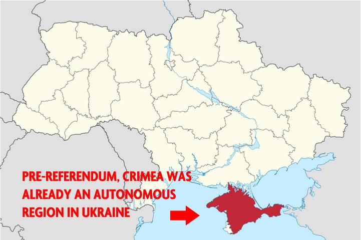 Крым — автономия в составе Украины