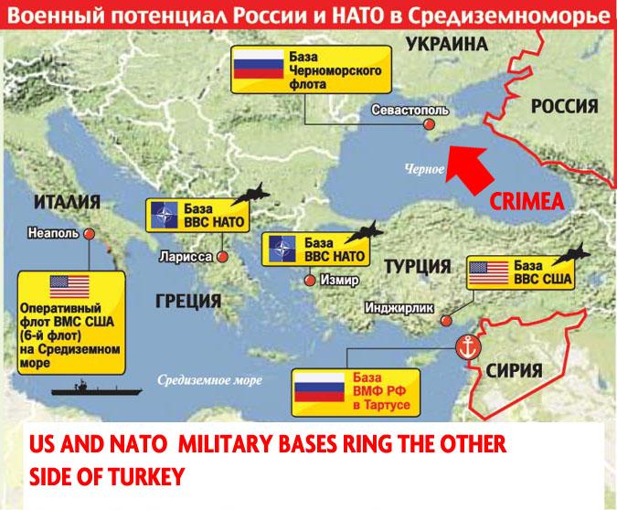 База российского флота в Крыму