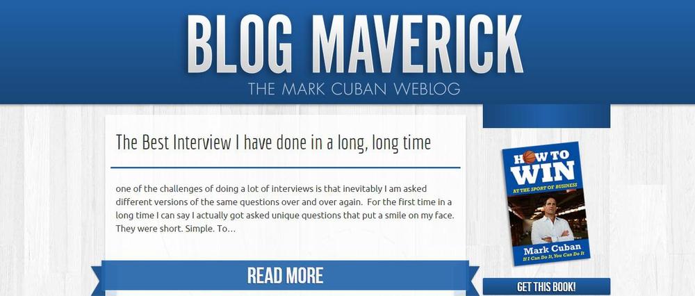 Blog Maverick