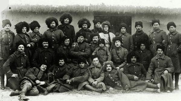 Участники первого Зимнего похода армии УНР