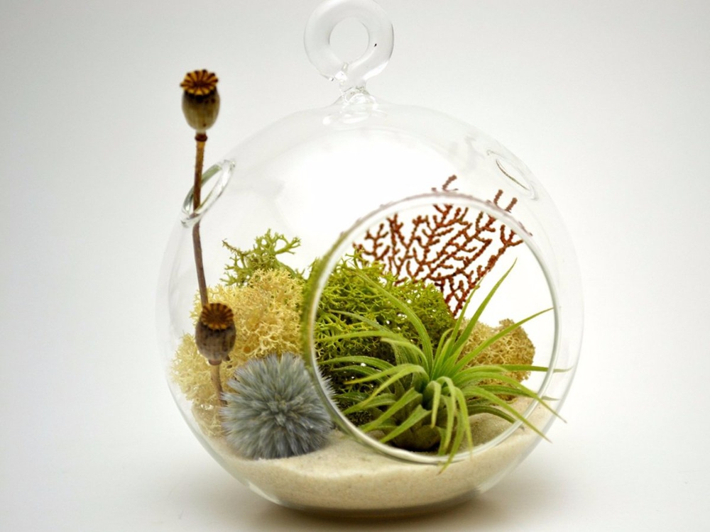 игрушка на елку — вазончик
