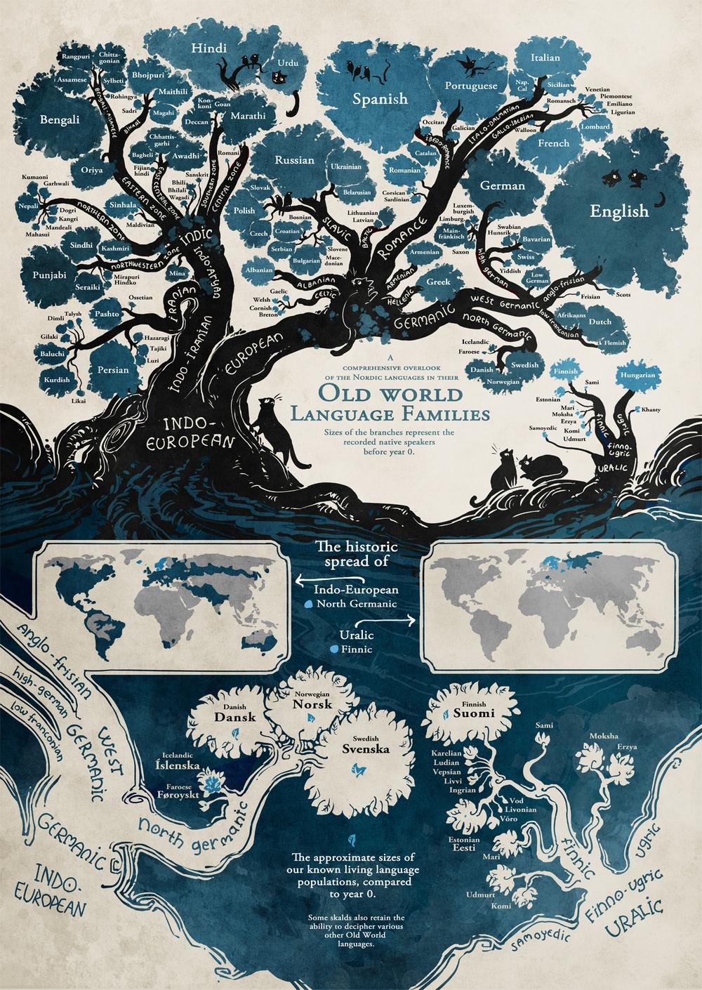 Взаимосвязи языков