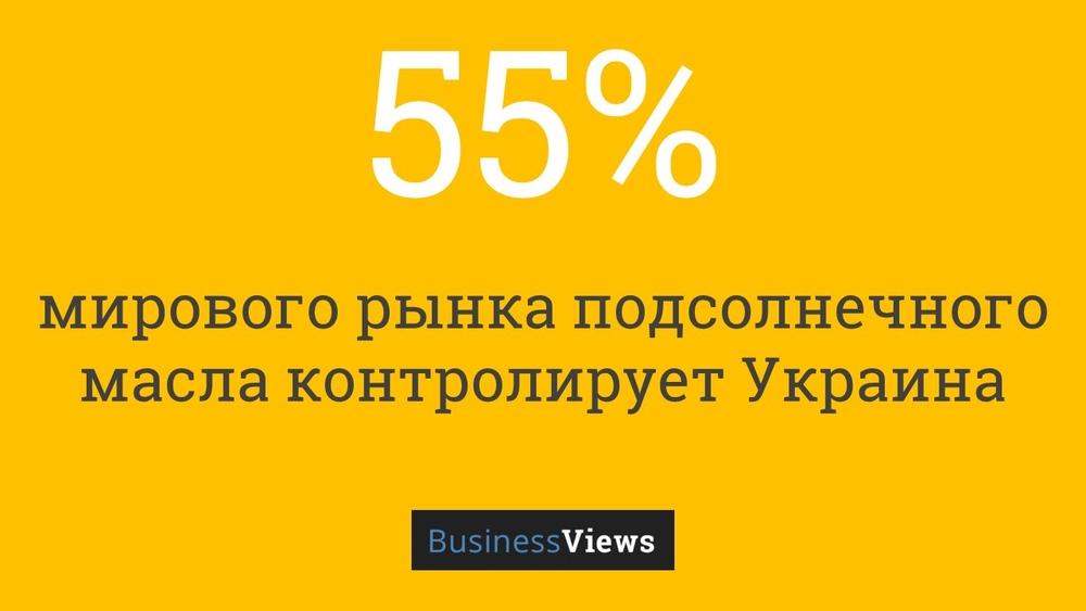 Украина на рынке подсолнечного масла
