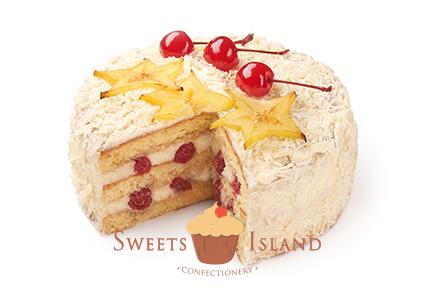 торт Белый Лис