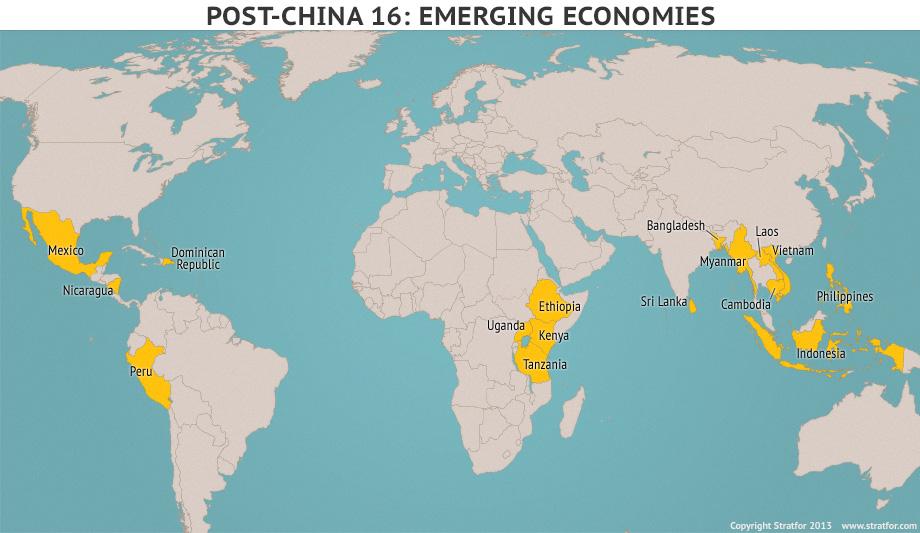 Страны, которые могут заменить Китай в роли глобального производителя