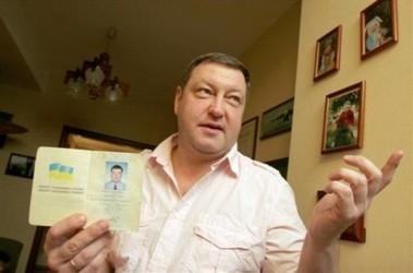Украинский пилот-испытатель Андрей Спасибо