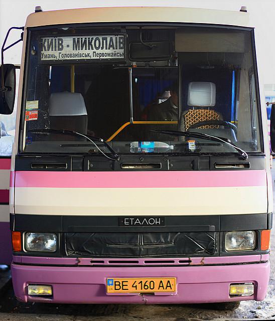 автобус в Украине