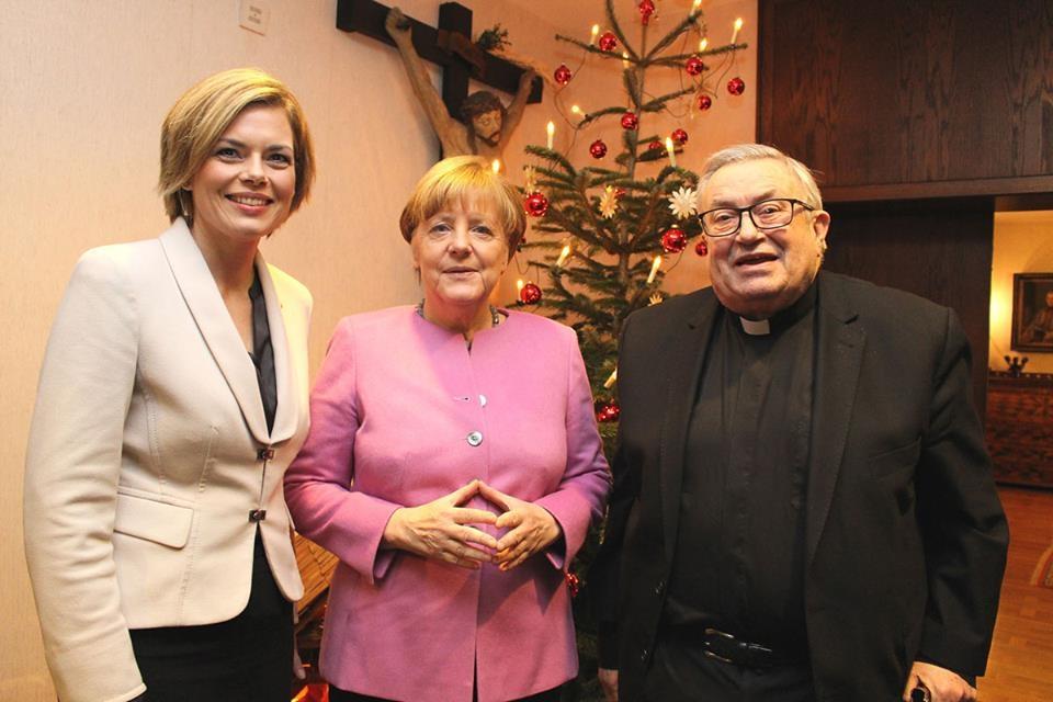 Любимый жест Ангелы Меркель