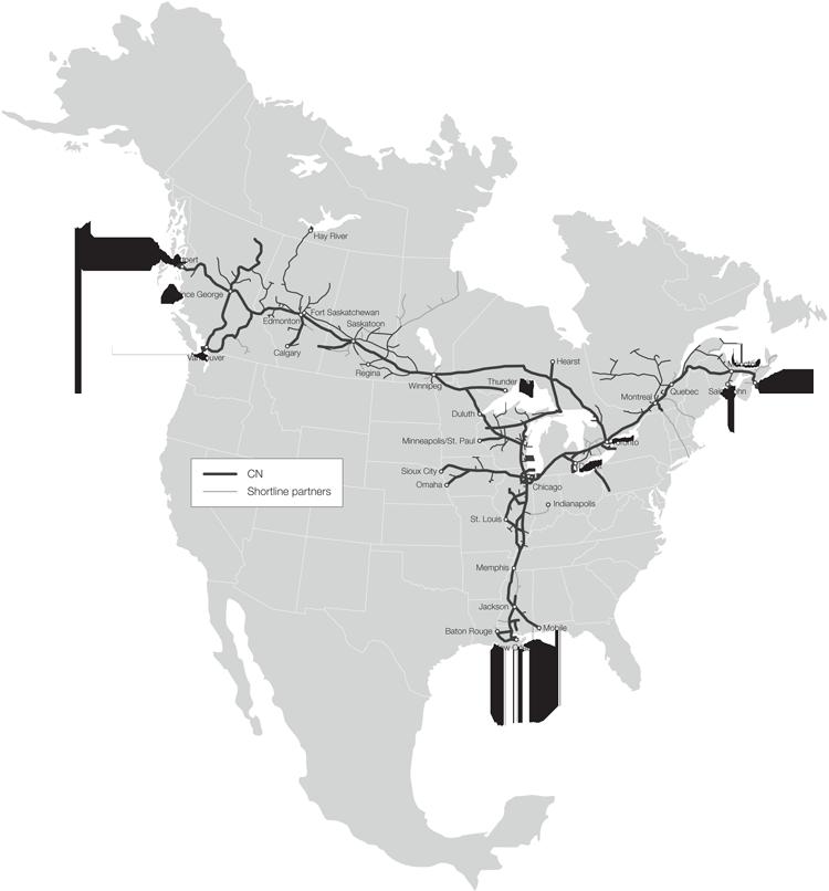 Железнодорожные пути США