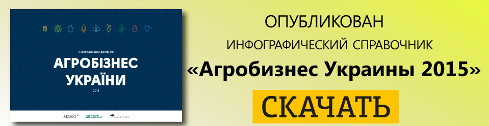 """инфографический справочник """"Агробизнес Украины"""""""
