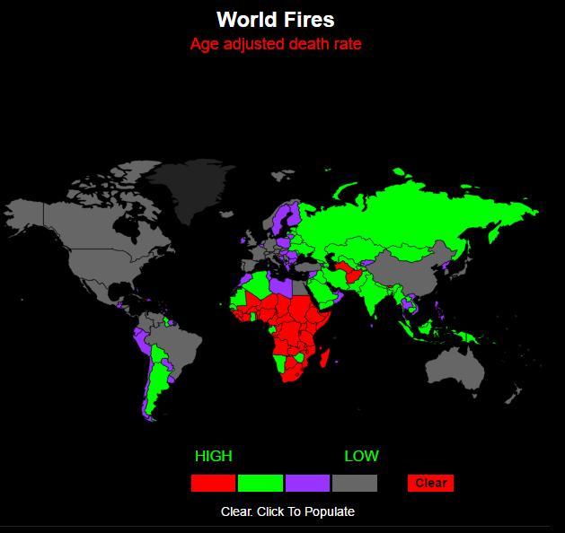 смертность от пожаров