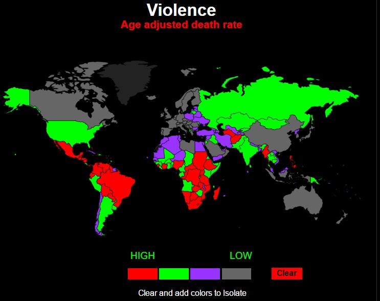 смертность от насилия
