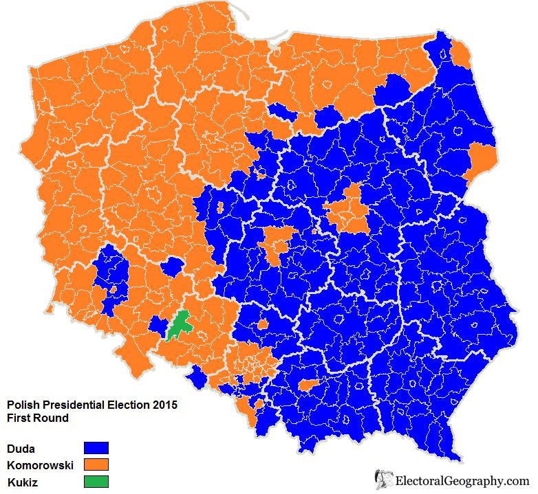 результат выборов в Польше