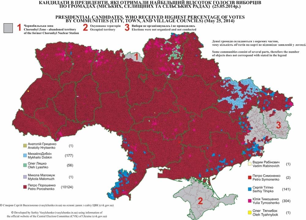 выборы в Украине 2014