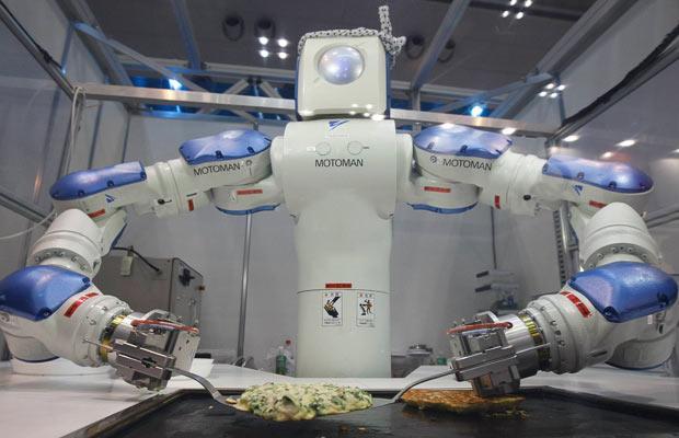 motoman робот на кухне