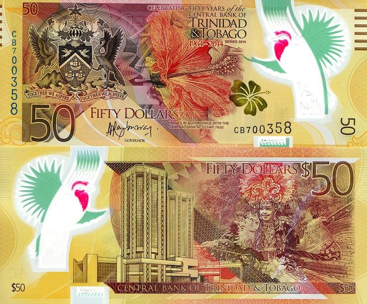 доллары Тринидада и Тобаго
