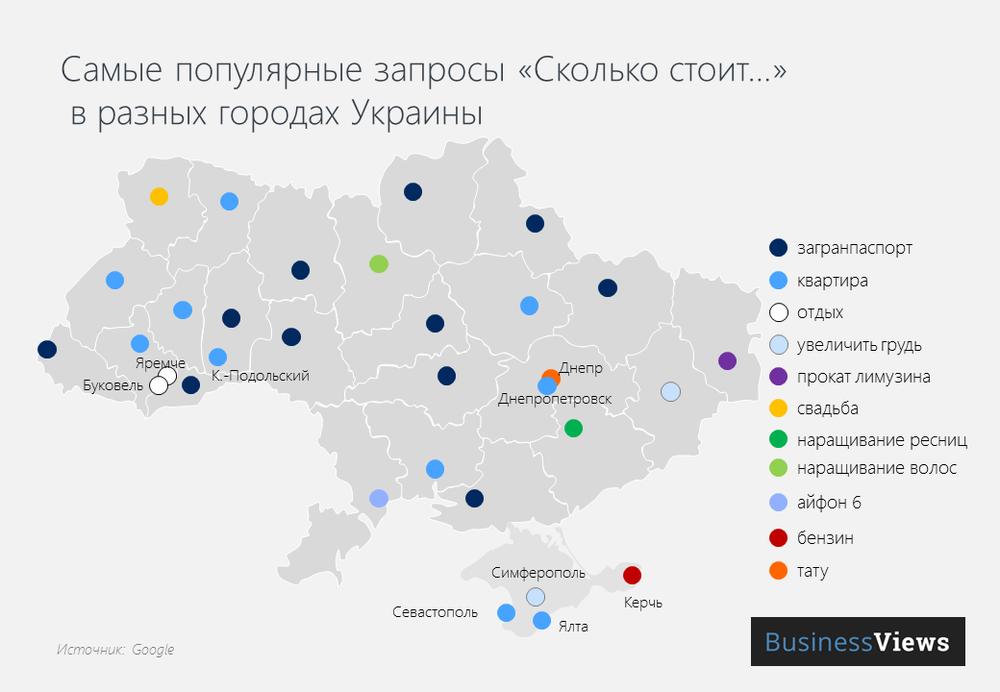 что украинцы ищут в гугле