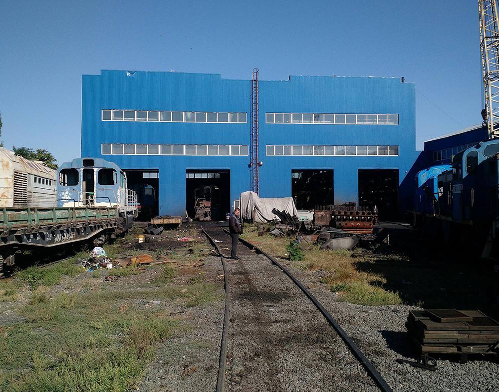 тепловозоромонтный завод Николаев