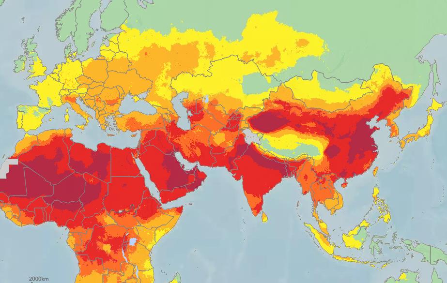 самый грязный воздух в мире
