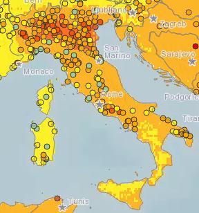 воздух в италии