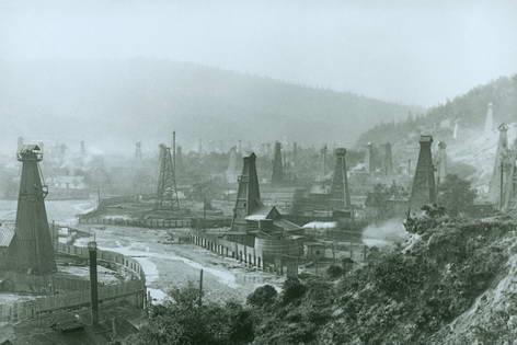 Добыча нефти в Бориславе