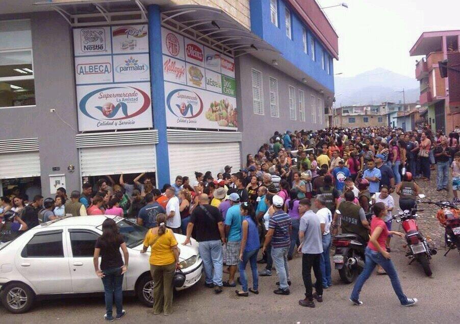 Очереди в Венесуэле