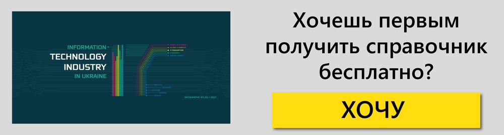 инфографический справонник IT Украины