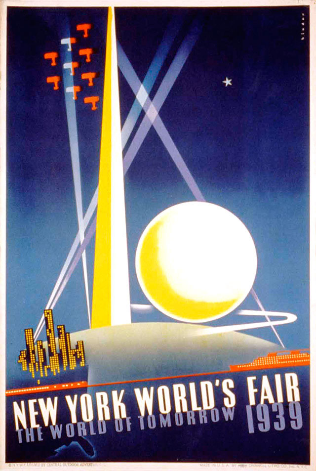 Poster for the World Exhibition in New York