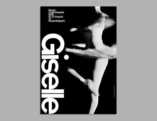 Poster for the ballet 'Giselle'