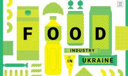 Інфографічний довідник Food Industry in Ukraine