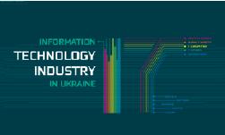"""Інфографічний атлас """"IT-індустрія в Україні"""""""