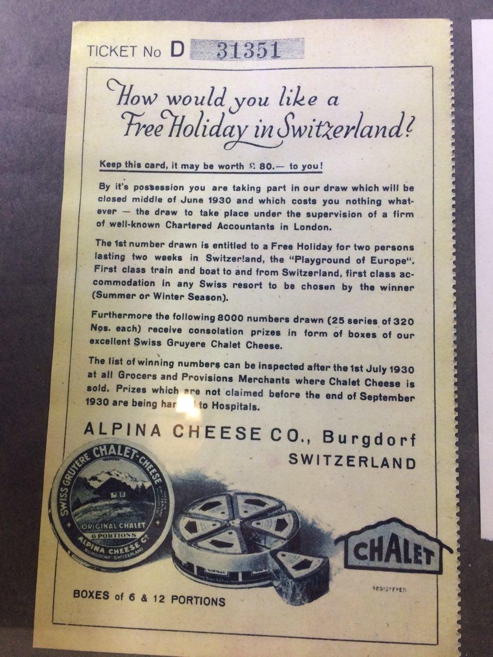 лотерея Швейцария сыр