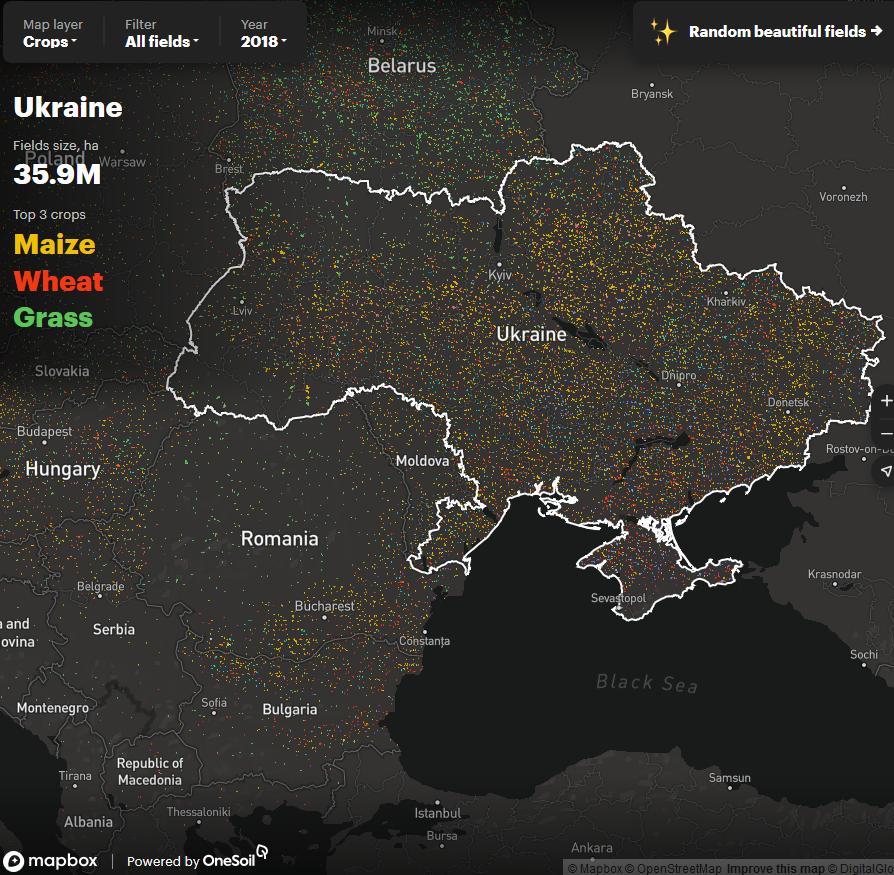 сельское хозяйство в Украине