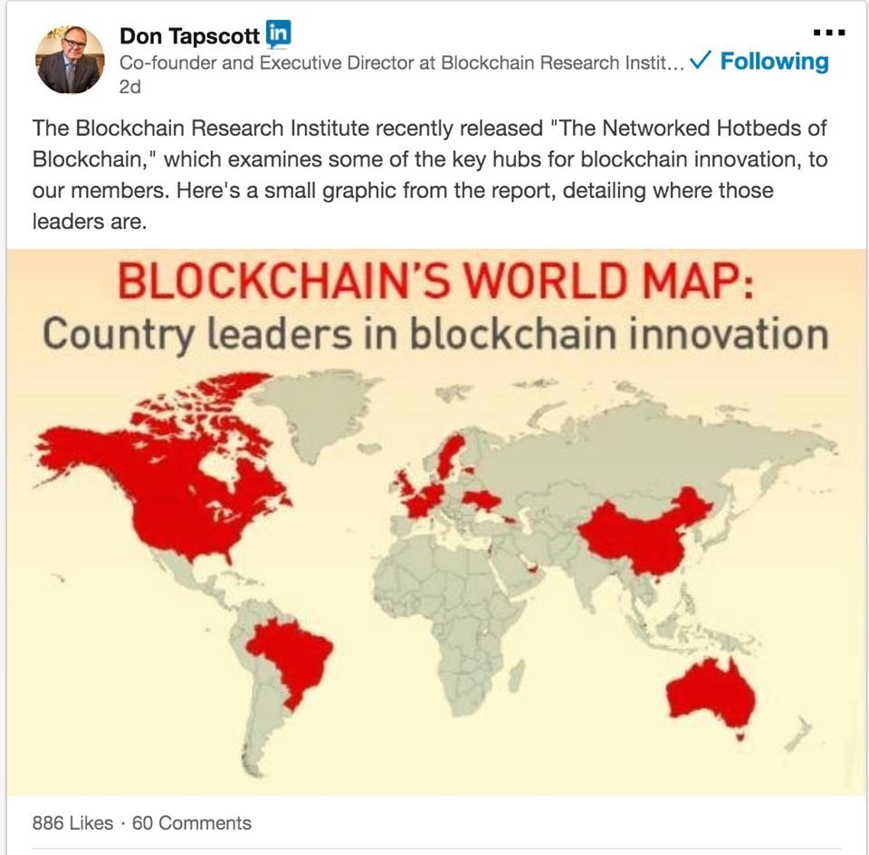 blockchain world map