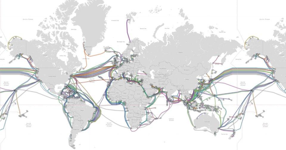 підводдні кабелі