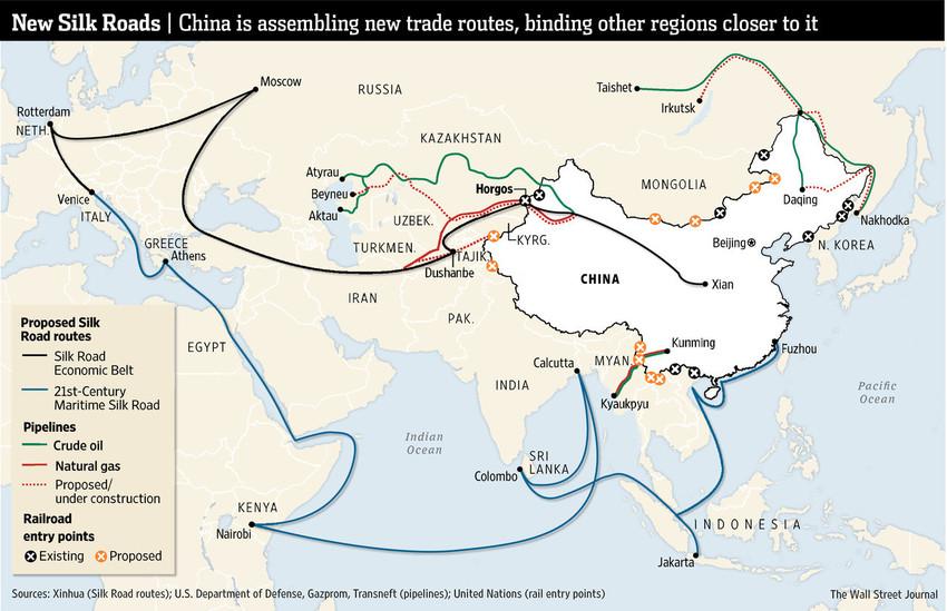 Як Китай поширює комунізм по всьому світу