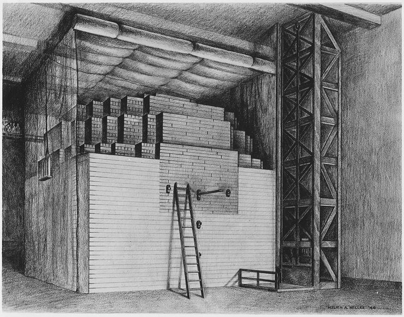 перший ядерний реактор