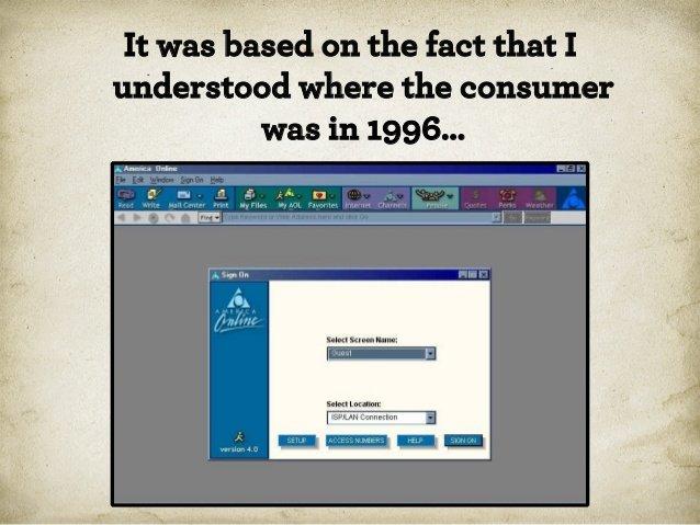 Вайнерчи понимал, где потребители были раньше